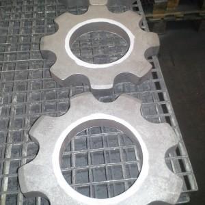 Použití ochranného nátěru pro zamezení difůzi uhlíku při cementaci.