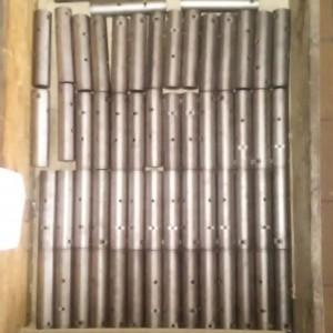 Součásti z materiálu 14 220 po cementování a kalení.